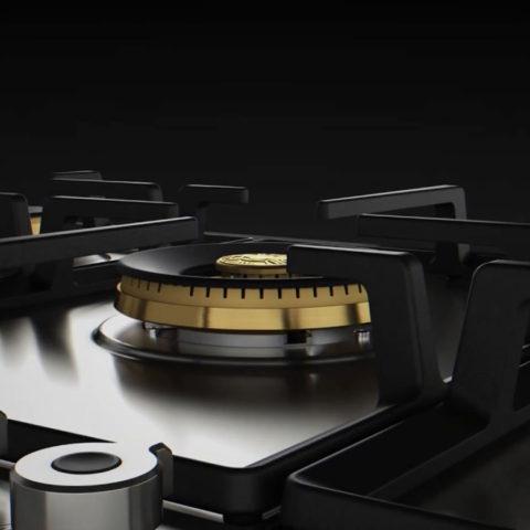 Bertazzoni Professional | Piano cottura a gas da 90 cm